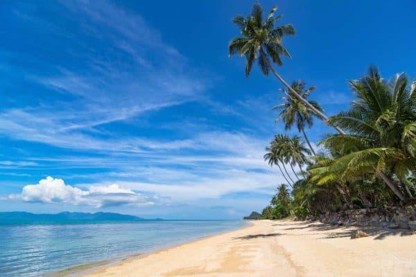 Beautiful Beach of Koh Samui, Thailand