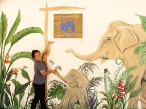 INSTAGRAM MURAL AT SAMUI ELEPHANT HAVEN 2