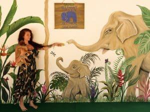 INSTAGRAM MURAL AT SAMUI ELEPHANT HAVEN 1