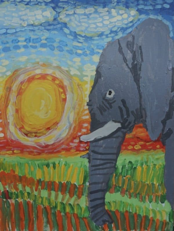 #11 The Sun of Elephant (Aged 5.5)