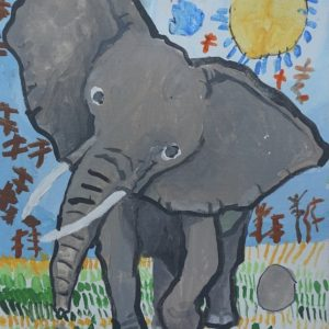 #12 The Shiny Elephant (Aged 5.5)
