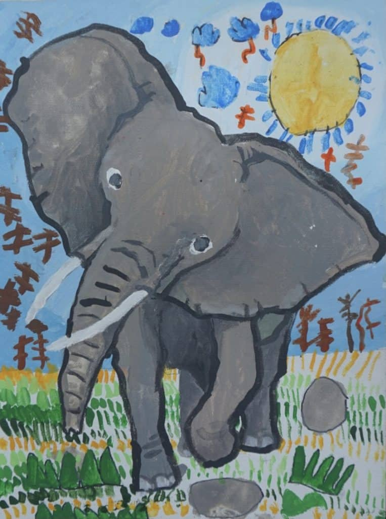 #12 The Shiny Elephant (Aged 5.5)