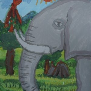 #14 Elephant of the Volcano (Aged 6)