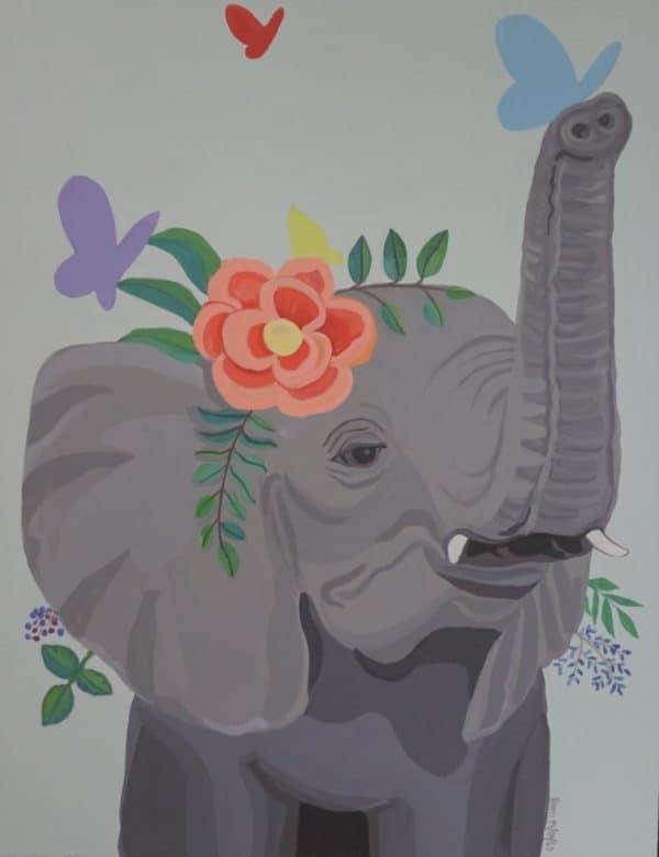 #22 Elephant's Flower 1 (Aged 9)