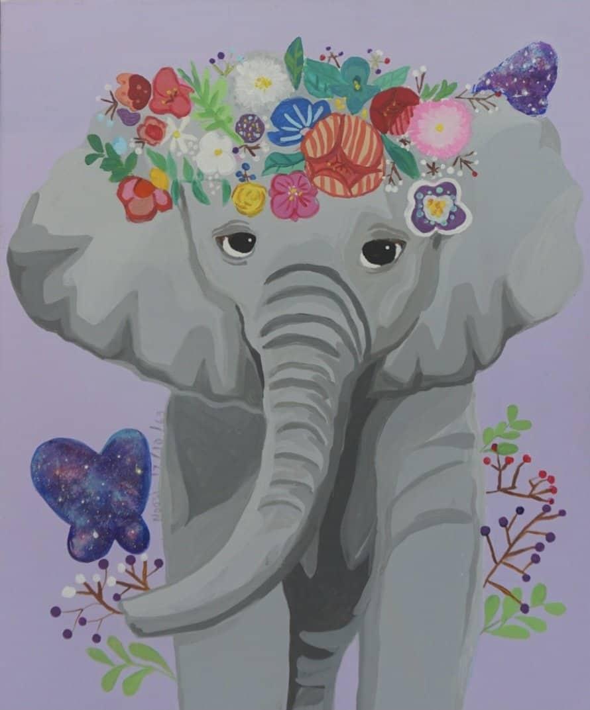 #23 Elephant's Flower 2 (Aged 9)