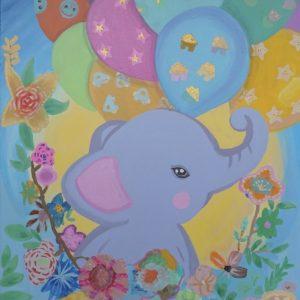 #32 Happy Elephant (Aged 11)