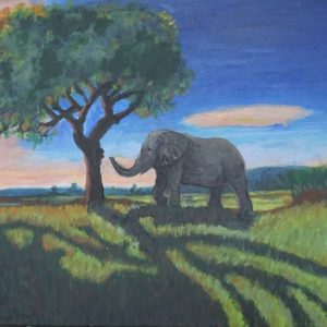 #38 Elephant From Afar (Aged 12)