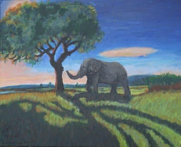 #38 Elephant From Afar (Aged 12)