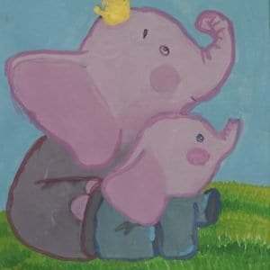 #9 With My Heart Elephant (Aged 5.5)